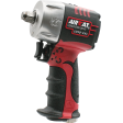 "Aircat Pneumatic 1059-VXL - 3/8"" Vibrotherm Drive Composite Compact Impact Wrench"