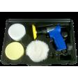 "Astro Pneumatic 3055 - 3"" Mini Air Polishing Kit"