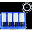 Flank Bite Damaged Lug Nut Socket Set w/ Spinning Protective Sleeves