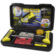 Blackjack Tire Repair KT340 - Tire Repair Kit w/ T Bone Handles & Screwdriver