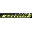 "ERNST 8463HV - 1/2"" Universal Twist-Lock Socket Set Organizer Tray w/ 2 Socket Rails"