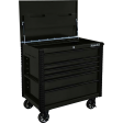 "Extreme Tools EX4106TCMBBK - 41"" 6 Drawer Tool Cart - Matte Black"