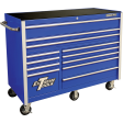 """Extreme Tools RX552512RCBL - RX-Series 55"""" 12-Drawer Roller Cabinet - Blue"""