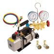 FJC 9281 - Vacuum Pump and Manifold Gauge Kit for R134a