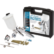HVLP Gravity Spray Gun Kit