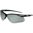 Jackson 50006 - Safety Glasses with Black Frame and Smoke Mirror Lens