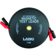Magnetic Retractable Test Leads - 2 Leads X 30-Ft.