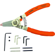Lang Tools 1434 - Quick Switch Pliers with Tip Kit