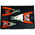 3pc Quick Switch Retaining Ring Pliers Set