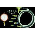 Lang Tools TU32-2 - Basic Diesel Fuel Pressure Test Kit