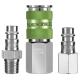 Flexzilla Pro High Flow Coupler & Plug Kit, 3 Piece - 1/4 in. NPT