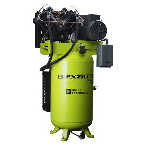 Flexzilla® Pro Air Compressor with Silencer™, 7.5 HP, 1-Phase, 2-Stage