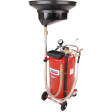 Lincoln 3639 - 25 Gallon Used Fluid Combo Drain / Evacuator