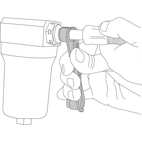 transmission oil cooler line scissors  8 u0026quot  x 1  2 u0026quot