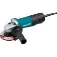 """Makita 9557PB - 4‑1/2"""" Paddle Switch Angle Grinder, with AC/DC Switch"""
