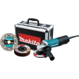 """4-1/2"""" Paddle Switch Cut-Off/Angle Grinder"""