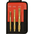 Mayhew 67001 - 3pc Brass Scraper Set