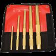 Mayhew 67003 - 5pc Brass Drift Punch Set