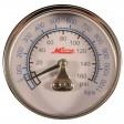 """Milton 1191 - 1/4"""" Pressure Gauge - 0-160 PSI - Center Mount"""
