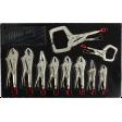 Milwaukee 48-22-3690 - 10pc Torque Lock Locking Pliers Kit