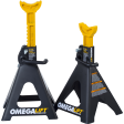 Omega 32068 - 6 Ton Double Locking Ratchet Style Jack Stands