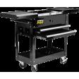 2 Drawer Tool Cart w/ Sliding Top