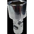 "SK Hand Tool 43518 - 9/16"" 6PT Flex Chrome Socket - 1/4"" Drive"
