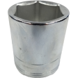 "SK Hand Tool 48226 - 26mm 6PT Chrome Socket - 1/2"" Drive"