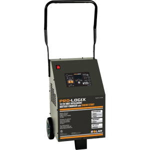 Solar PL3760 - 60/40/10/250A 12/24V Intelligent Wheeled Charger w/ Engine Start
