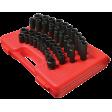"""Sunex 2668 - 1/2"""" Dr 39pc SAE Short/Deep Impact Socket Set"""