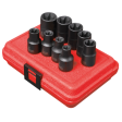 "1/2"" Dr 9pc External Torx Impact Socket Set"