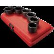 "Sunex 3671 - 3/8"" Dr 6pc Oil & Fuel Filter Impact Socket Set"