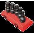 "3/4"" Dr 5pc SAE Hex Drive Impact Socket Set"