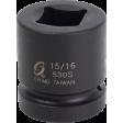"Sunex 530S - 1"" Dr 15/16"" Square Impact Socket"