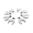 "Sunex 9730 - 1/2"" Dr 8pc Metric Jumbo Crowfoot Wrench Set"