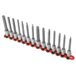 "3/8"" Dr 14pc Metric Long Hex Bit Set"