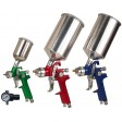 4pc HVLP Spray Gun Kit with Aluminum Case