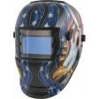 Solar Powered Auto Darkening Welding Helmet - Eagle