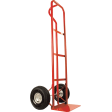 Heavy Duty Steel Hand Truck With Extra Large Toe Plate