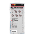 Wilmar W5215 - SAE/MET Grease Fitting Assortment - 70 Piece